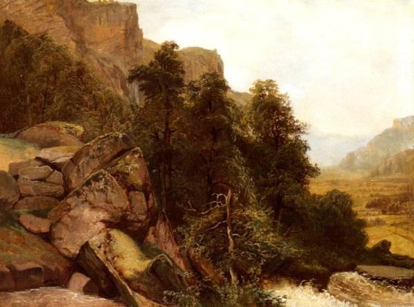 Landschaftsstudie 1851